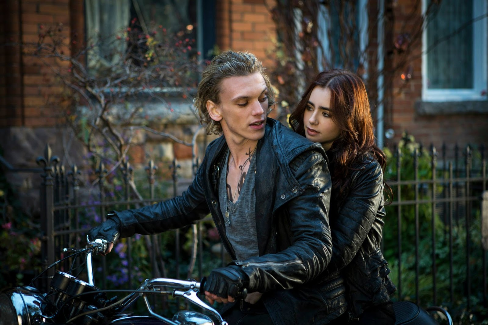 The Mortal Instruments City  Jace And Clary Movie