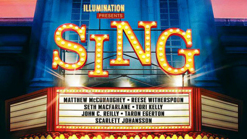 Image result for sing movie poster