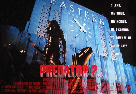 Image result for Predator 2  poster