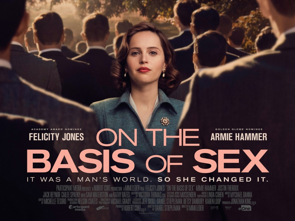 Image result for on the basis of sex poster