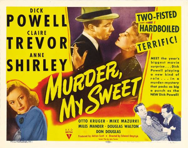 A Shroud of Thoughts: Philip Marlowe in Murder, My Sweet (1944)