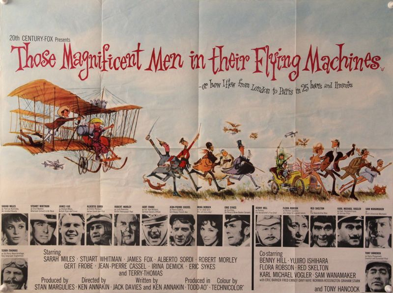 Classic Movie Ramblings: Those Magnificent Men in Their Flying ...
