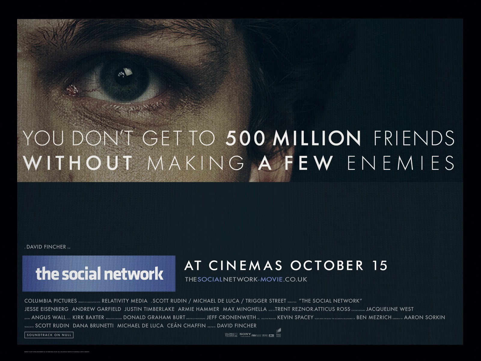 """30 Days of Screenplays, Day 8: """"The Social Network"""""""