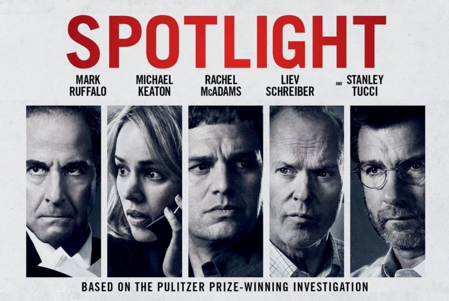 Spotlight — Film Review. When discussing any 'true story' media…   by The  Omcast Movie Reviews   Movie Time Guru