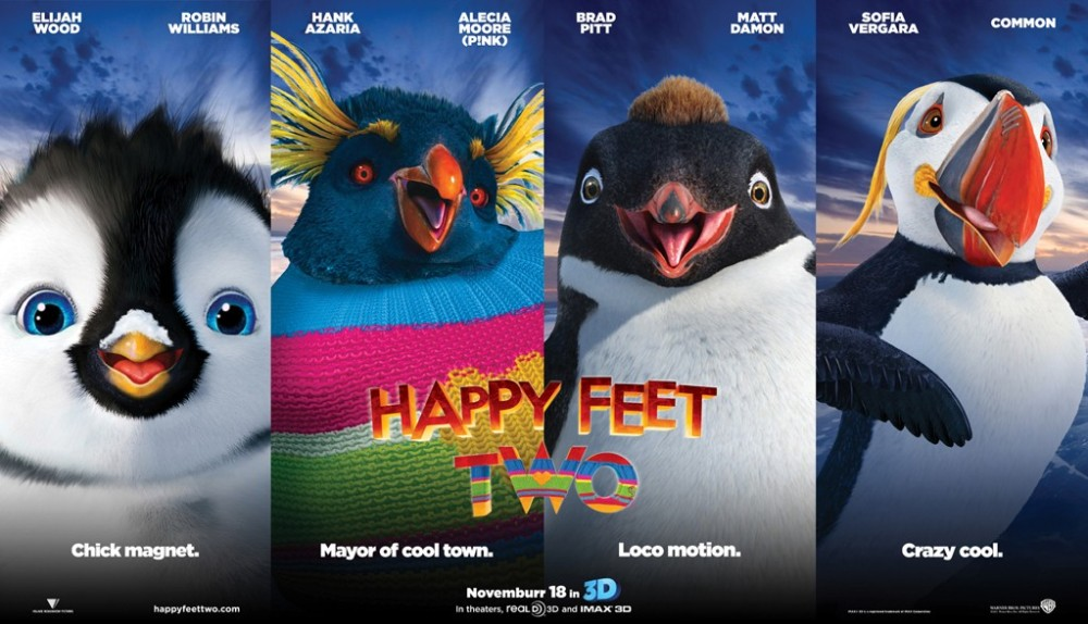 Happy Feet 2 Movie Poster | Happy Feet 2 Trailer