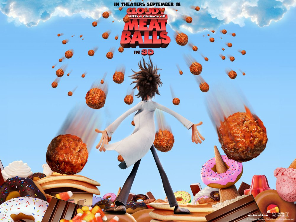 Cloudy With A Chance of Meatballs — The Newtown Theatre