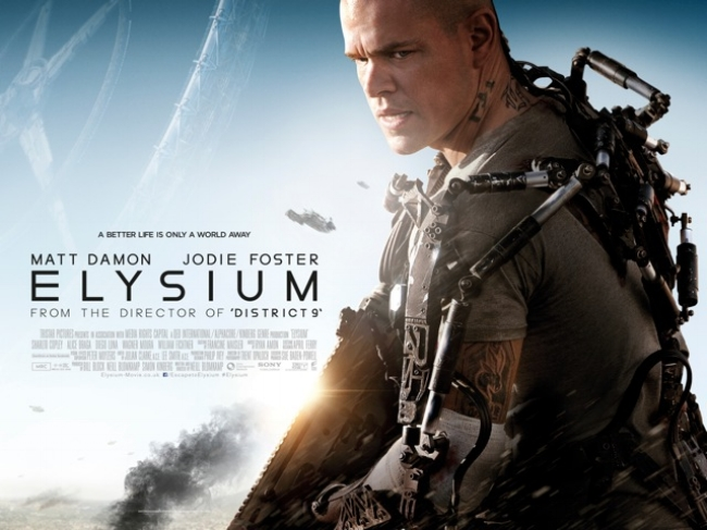 Elysium (2013) — Contains Moderate Peril