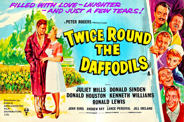 Carry On Blogging!: Not Quite A Carry On: Twice Round The Daffodils