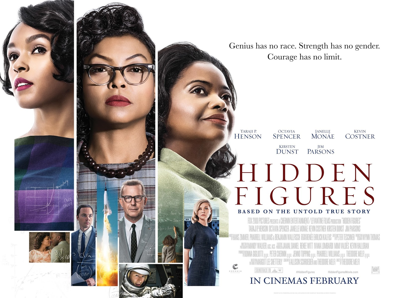 Been To The Movies: Hidden Figures - Brand New International Poster