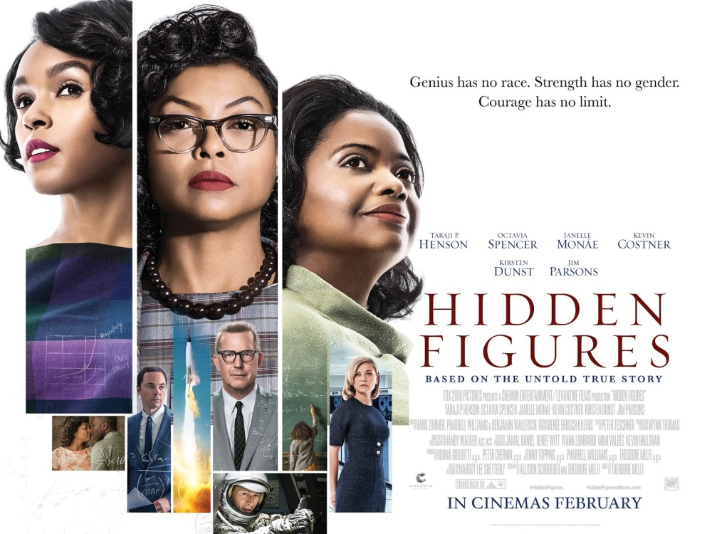 Been To The Movies: Hidden Figures - Brand New International Poster
