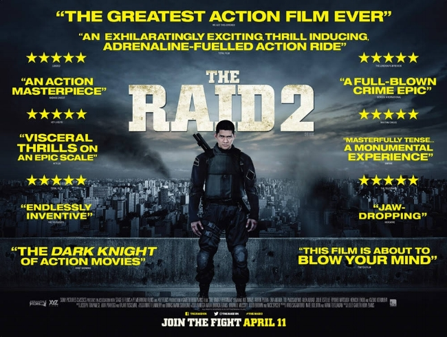 The Raid 2 (2014) — Contains Moderate Peril