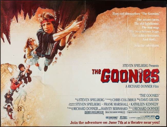 The Goonies (1985) — Contains Moderate Peril