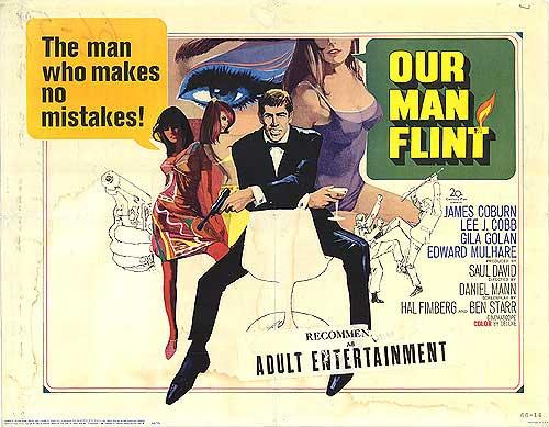 PRIMITIVE SCREWHEADS: Our Man Flint & In Like Flint