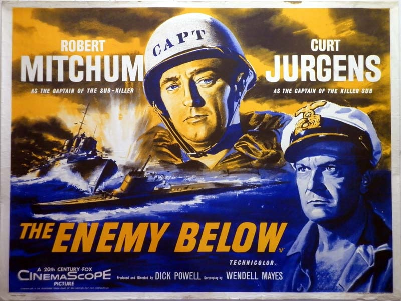 Classic Movie Ramblings: The Enemy Below (1957)