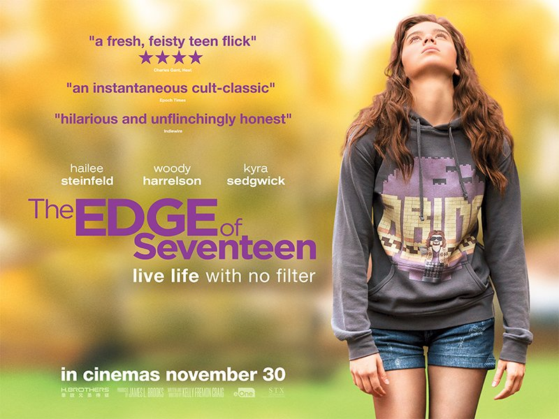 The Edge Of Seventeen - movie review