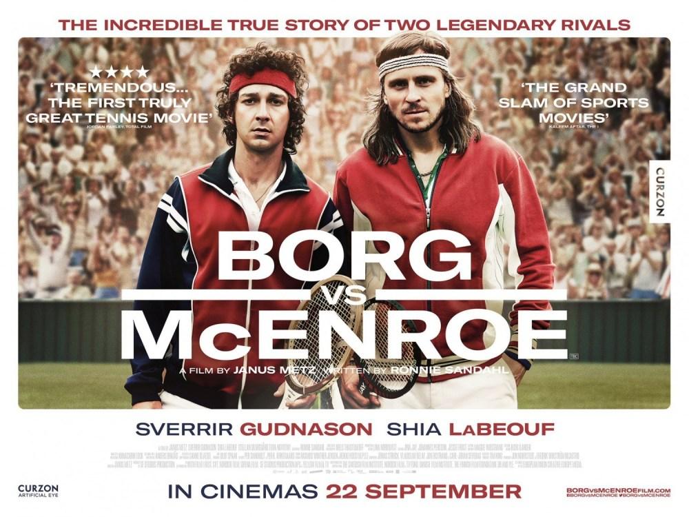 The Sporting Film - Borg Vs McEnroe — The Sporting Blog