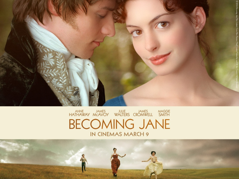 The Home Of The Twisted Red LadyBug: Movie Time: Becoming Jane