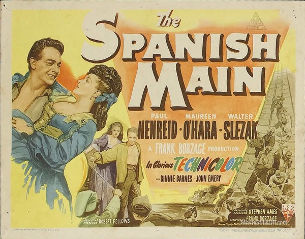 Classic Movie Ramblings: The Spanish Main (1945)