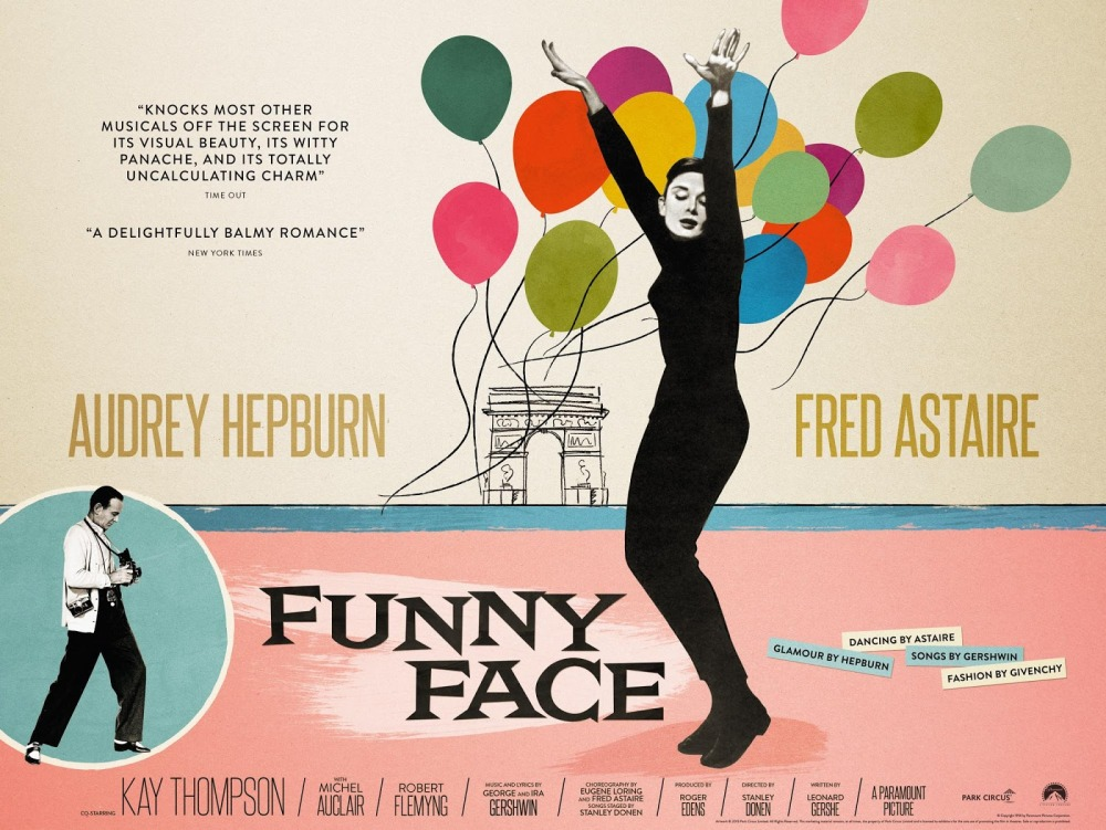 Astaire loves Hepburn's... Funny Face (1957)
