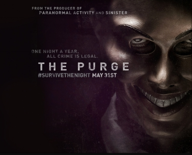 The Purge (2013) — Contains Moderate Peril