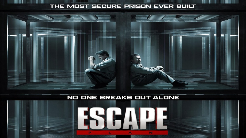 easton blog: Escape Plan movie Poster and Tralier