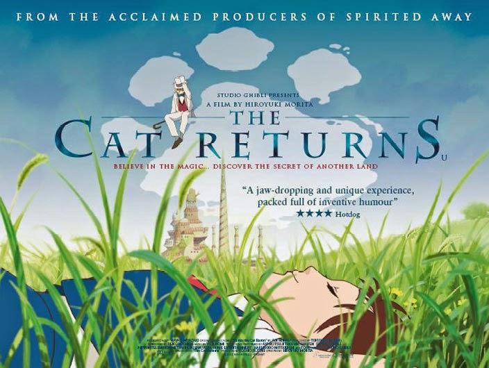 Animated Film Reviews: The Cat Returns (2002) - Terrific Anime ...
