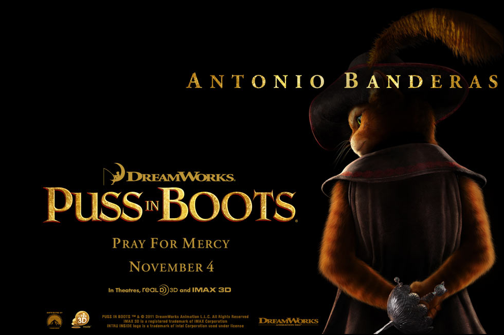Puss in Boots | Teaser Trailer