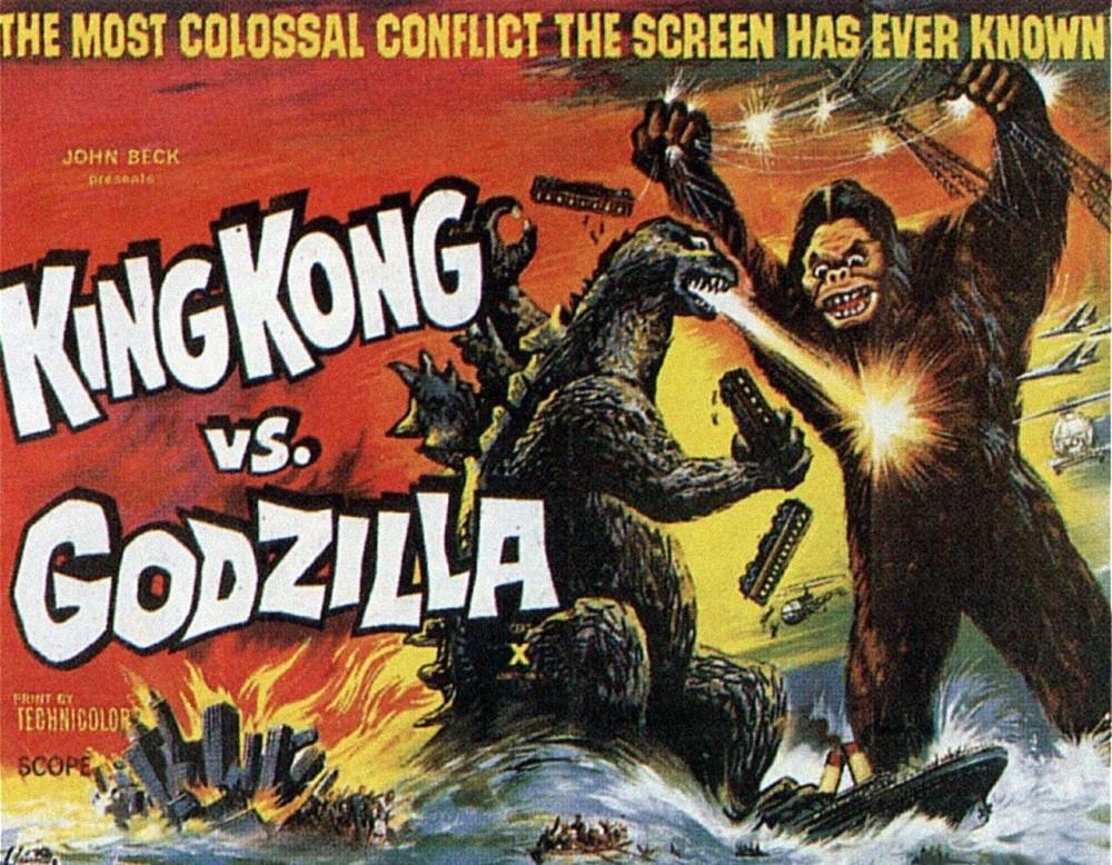 Homeys on Film: King Kong vs. Godzilla (1962) | by Homeys OnFilm ...