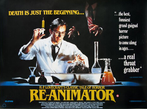 Movie Night: Re-Animator — Coming Off the Reels