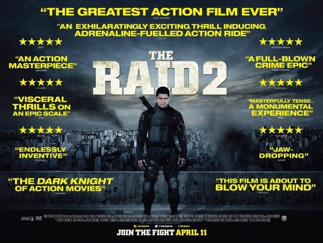 The Raid 2 — Blog — Contains Moderate Peril