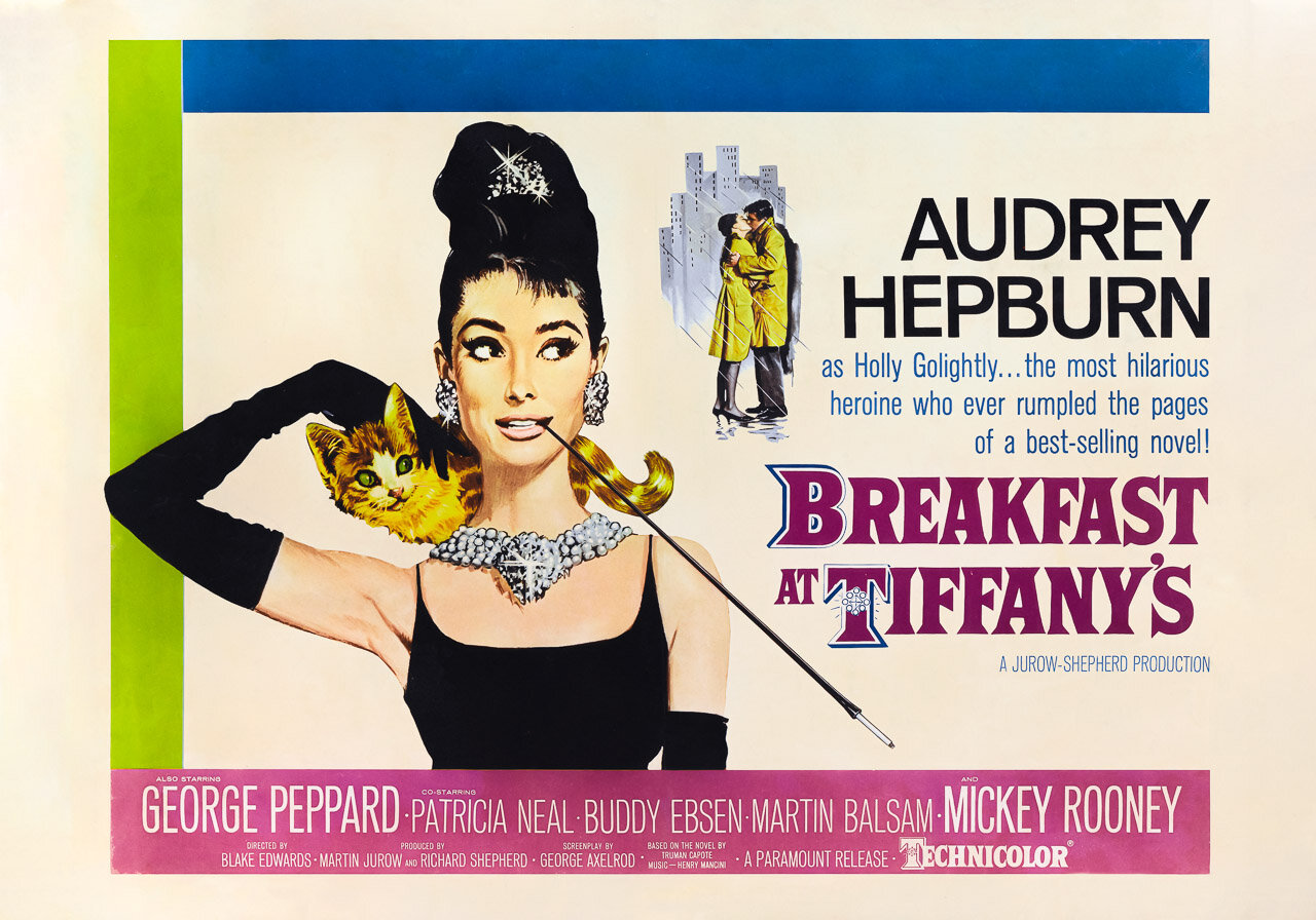 Holly Golightly's Breakfast at Tiffany's poster — Vitri/Art - Beautiful Art  for your Beautiful Life.