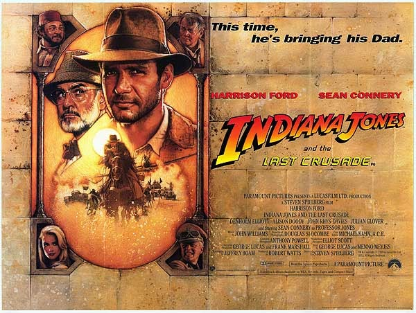 10 things you might not know about INDIANA JONES AND THE LAST CRUSADE -  Warped Factor - Words in the Key of Geek.
